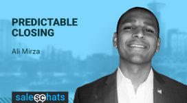 #SalesChats: July 5th 9am PT with Ali Mirza