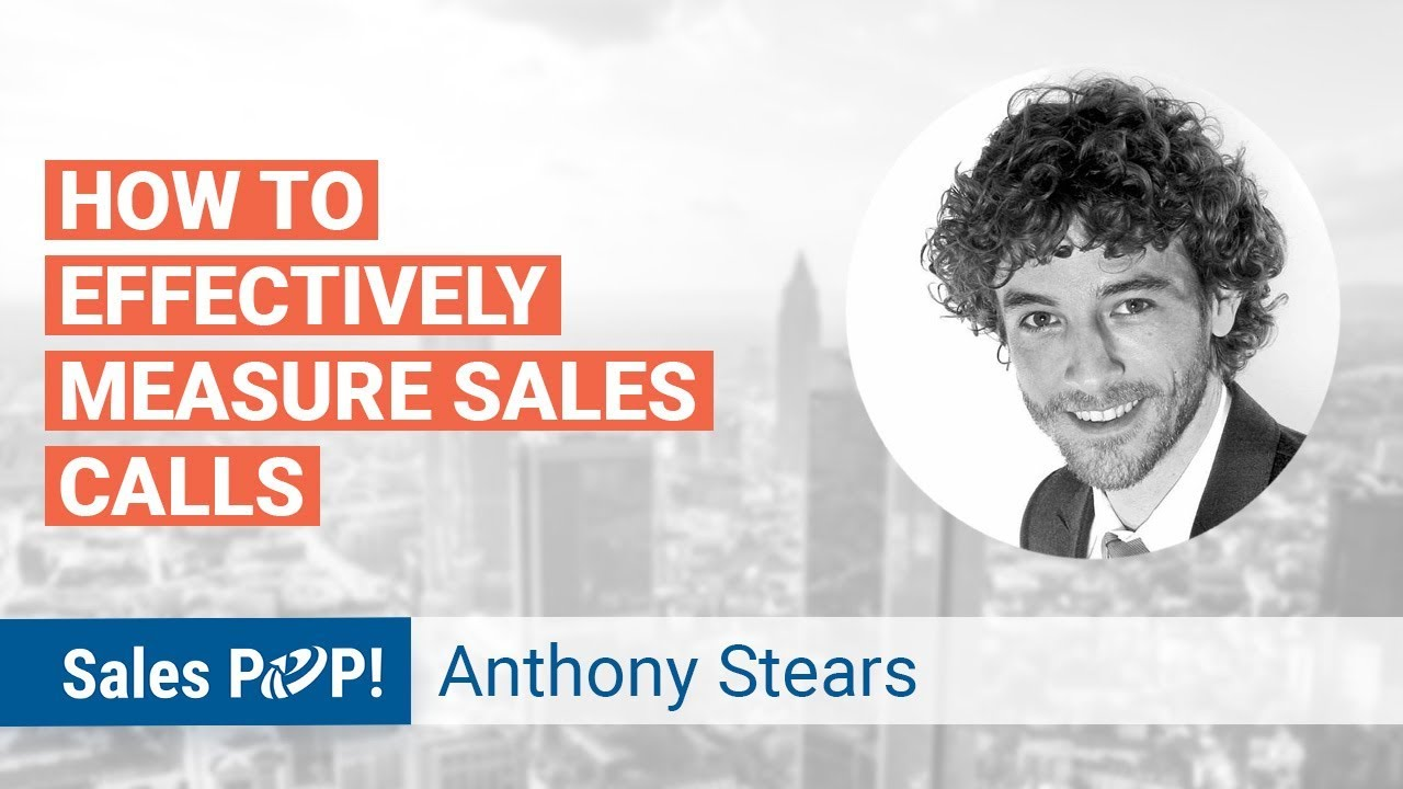 CRM and Measuring Sales Effectiveness in Calls by Anthony Stears