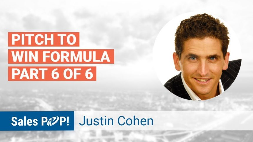 """Pitch to Win 6 Step Formula: """"Content"""""""
