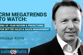 #SalesChats: CRM Mega-trends to Watch