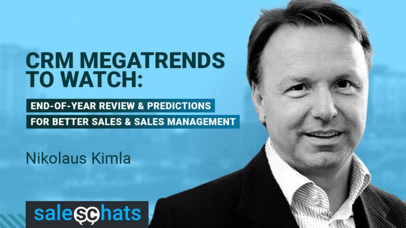 #SalesChats: CRM Mega-trends to Watch