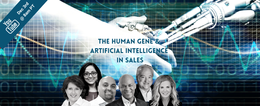 YOUTUBE LIVE EVENT: The Human Gene & Artificial Intelligence in Sales