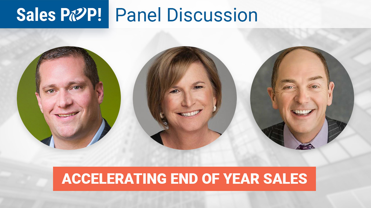 Panel Discussion: Accelerating End of Year Sales by John ...