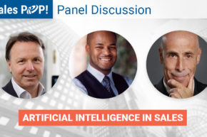 Panel Discussion: Artificial Intelligence in Sales | February 27th at 10am PST