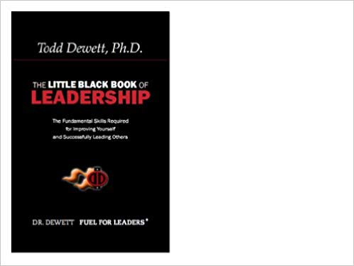 The Little Black Book Of Leadership Cover