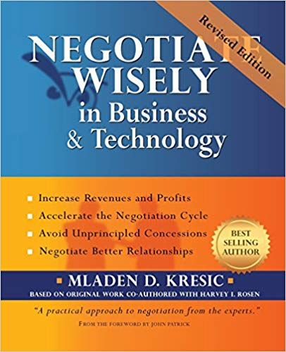 Negotiate Wisely in Business and Technology Cover