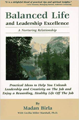 Balanced Life and Leadership Excellence: A Nurturing Relationship Cover