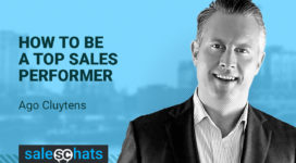 #SalesChats: How to Be a Top Sales Performer