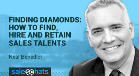 #SalesChats: Finding Diamonds: How to Find, Hire and Retain Sales Talents