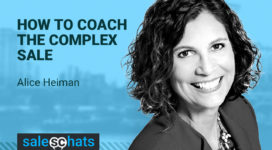 #SalesChats: How to Coach the Complex Sale