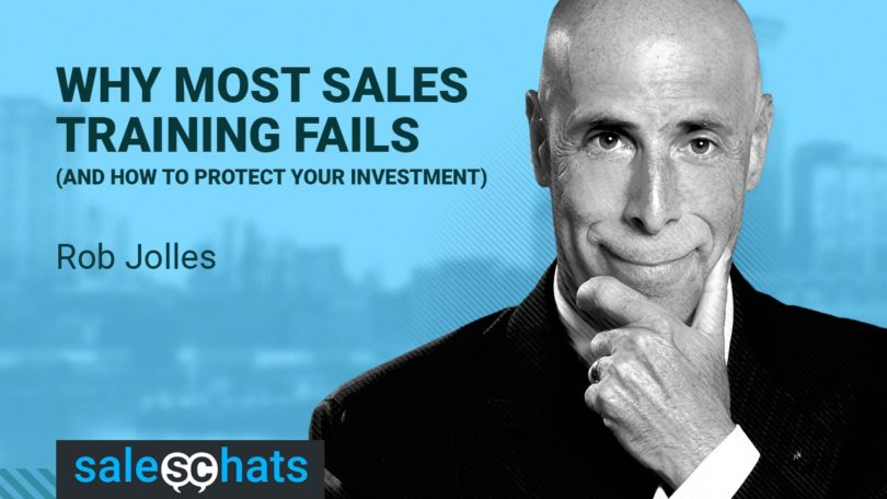 #SalesChats: Why Most Sales Training Fails