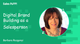 Digital Brand Building as a Salesperson