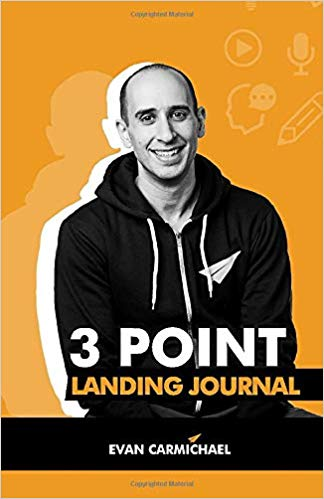 3 Point Landing Journal Cover
