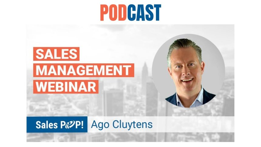 🎧 Sales Management Webinar