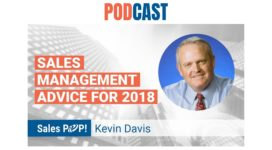 🎧 Sales Management Advice for 2018