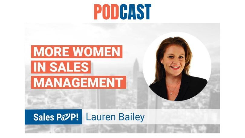 🎧 More Women In Sales Management