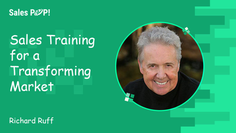 Sales Training for a Transforming Market