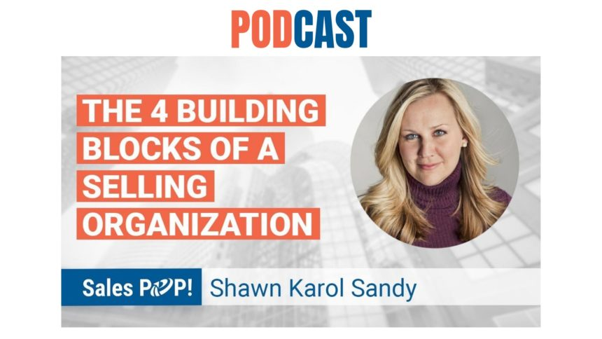 🎧 The 4 Building Blocks of a Selling Organization