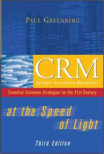 CRM at the Speed of Light, 3e Cover