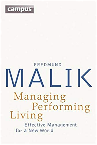 Managing Performing Living: Effective Management for a New World – Second Edition Cover