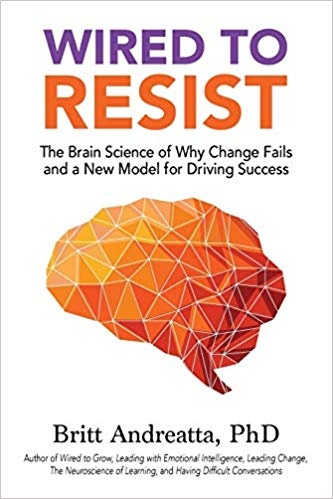 Wired to Resist: The Brain Science of Why Change Fails and a New Model for Driving Success Cover