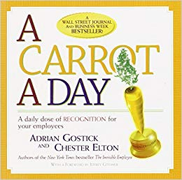 A Carrot a Day: A Daily Dose of Recognition for Your Employees Cover
