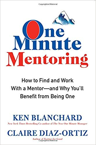 One Minute Mentoring: How to Find and Work With a Mentor Cover