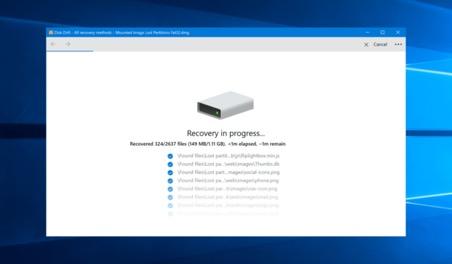 Disk Drill Restoring Soft