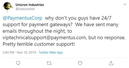 customer's frustration