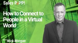 How to Connect to People in a Virtual World
