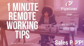 1 Minute Remote Working Tips – #4 DIGITAL PROCESSES