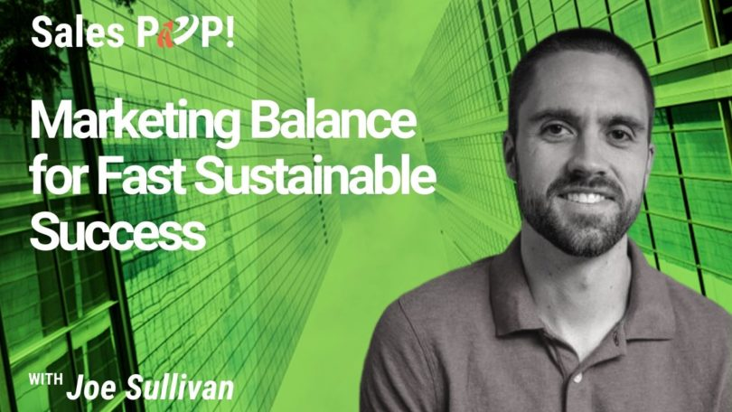 Marketing Balance for Fast Sustainable Success