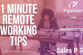 1 Minute Remote Working Tips – Introduction