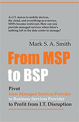 From Msp to Bsp: Pivot to Profit from It Disruption Cover