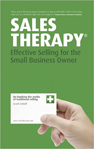 Sales Therapy: Effective Selling for the Small Business Owner Cover