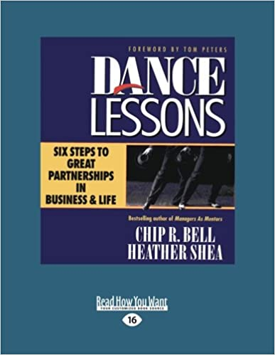 Dance Lessons: Six Steps to Great Partnership in Business and Life Cover