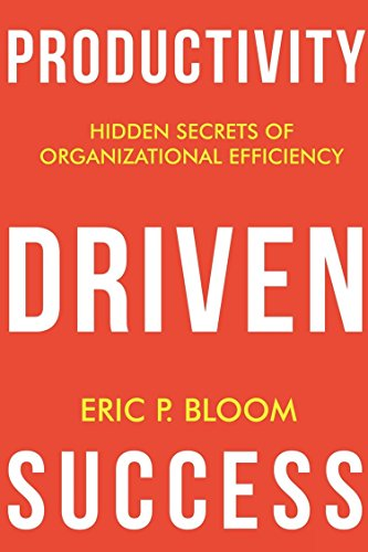 Productivity Driven Success Cover