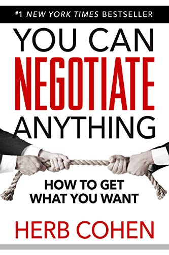 You Can Negotiate Anything Cover