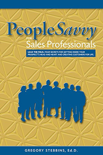 PeopleSavvy for Sales Professionals Cover