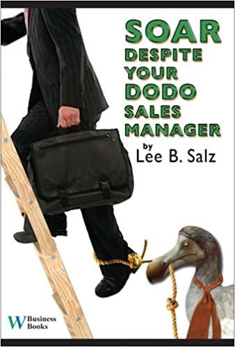 Soar Despite Your Dodo Sales Manager Cover