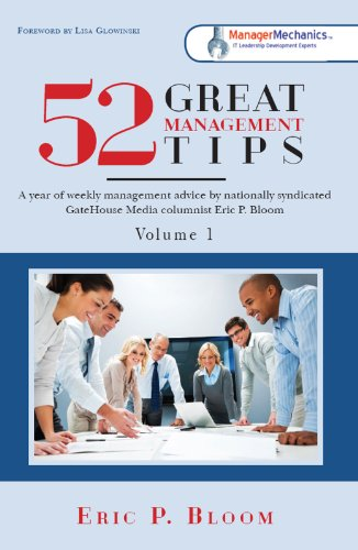52 Great Management Tips Cover
