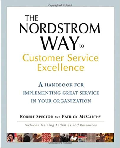 The Nordstrom Way to Customer Service Excellence: A Handbook For Implementing Great Service in Your Organization Cover