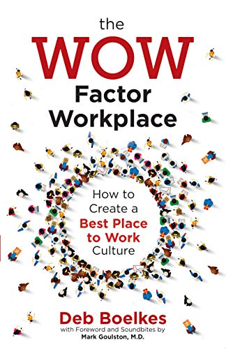 The WOW Factor Workplace: How to Create a Best Place to Work Culture Cover