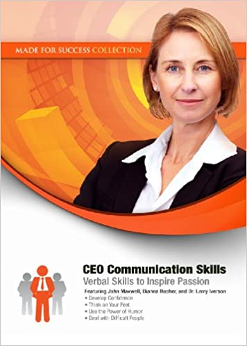 CEO Communication Skills: Verbal Skills to Inspire Passion (Made for Success Collection) Cover