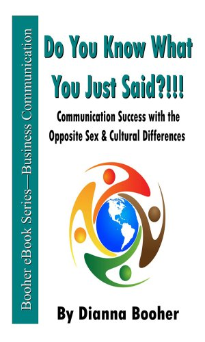 Do You Know What You Just Said?!!! Communication Success with the Opposite Sex & Cultural Differences Cover