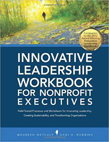 Innovative Leadership Workbook for Nonprofit Executives Cover