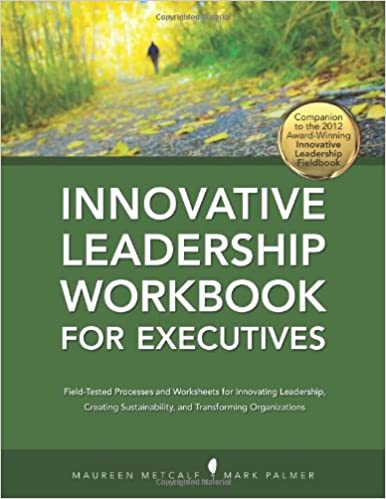 Innovative Leadership Workbook for Executives Cover