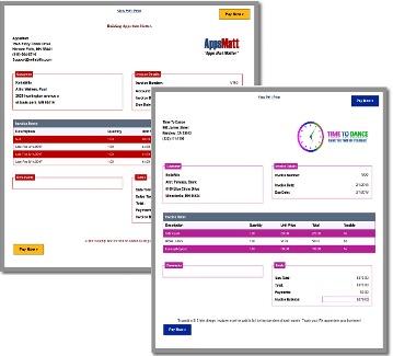 Zoho invoicing app