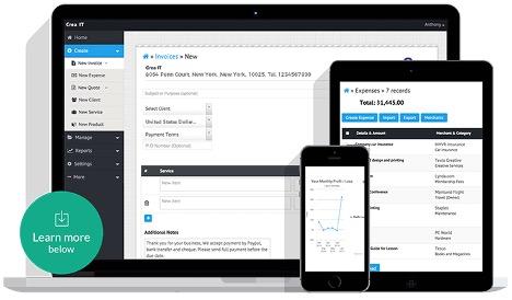 ReliaBills invoicing app