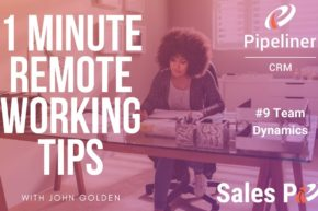 1 Minute Remote Working Tips #9: Team Dynamics